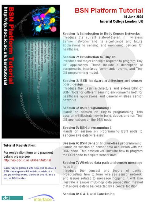 tutorial html workshop international workshop on wearable implantable body
