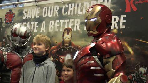 avengers german comic berlin im talk mit iron man