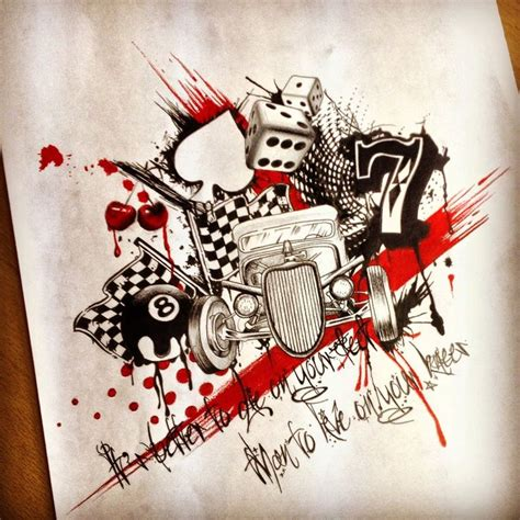 rat rod tattoos designs 25 best ideas about rod on
