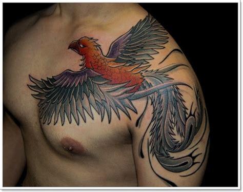 phoenix shoulder tattoo designs 38 tattoos on shoulder
