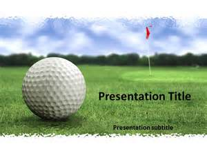 Golf Powerpoint Template by Golf Course Powerpoint Templates Golf Course Powerpoint