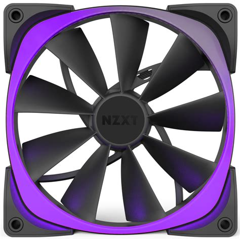 Nzxt Aer Rgb 140mm Digitally Controlled Rgb Led Fans For Hue Plus H aer rgb digitally controlled rgb led fans nzxt