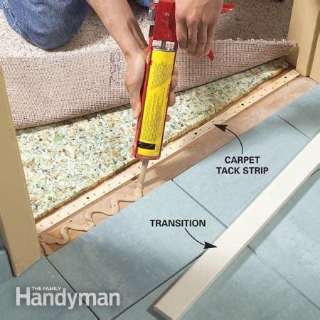 Install a Ceramic Tile Floor in the Bathroom   The Family