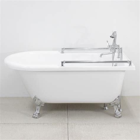 bathtub bar 65 quot towel bar classic clawfoot tub and faucet pack