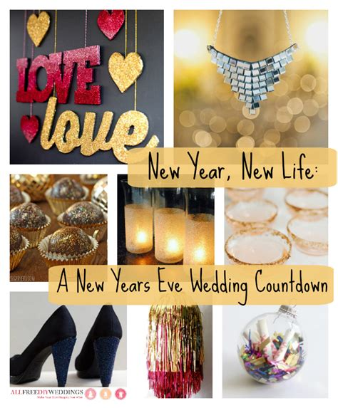 new year collage ideas new year new a new years wedding countdown