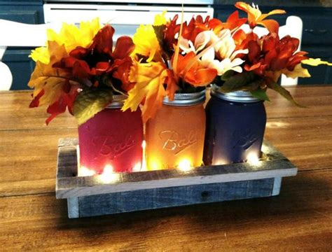 Handmade Thanksgiving Decorations - 16 charming handmade thanksgiving centerpiece ideas that