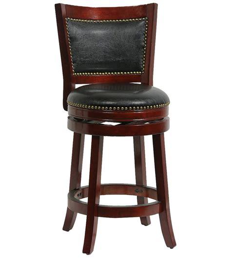 bristol swivel counter stool  wood bar stools