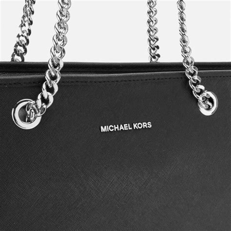 Silver Chainmail Holdall From Warehouse by Michael Michael Kors Jet Set Travel Chain Top Zip Tote Bag
