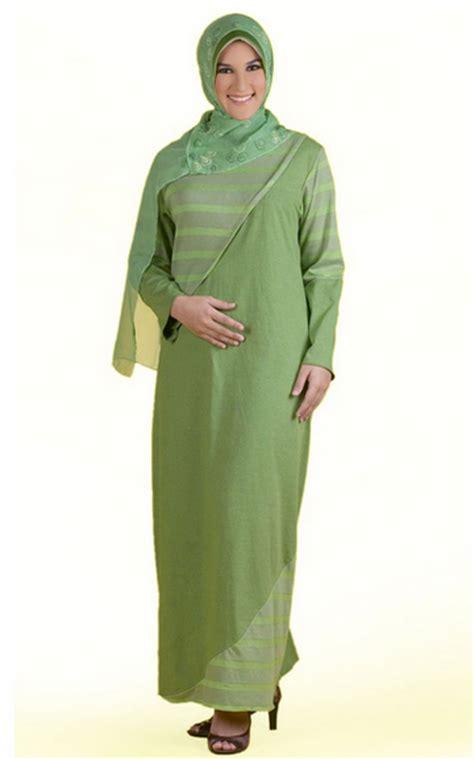 desain baju gamis lebaran 2015 modisnya ibu hamil dengan model baju lebaran gamis terbaru