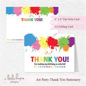 thank you cards 2 sizes printable