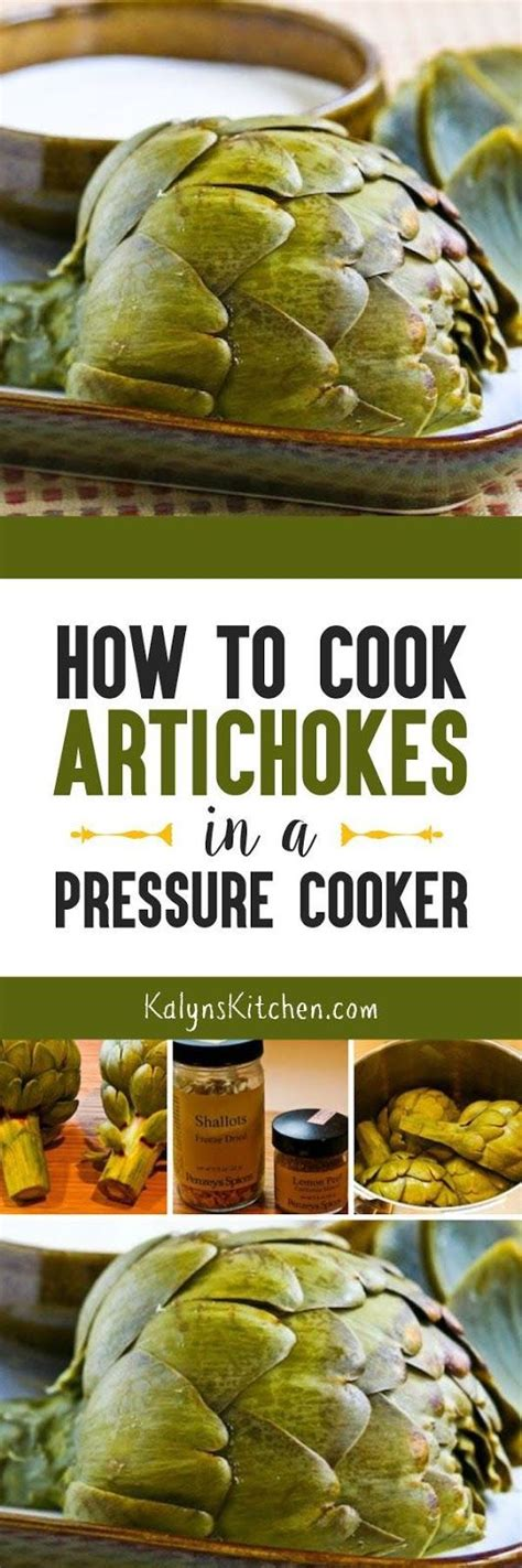 how to cook artichokes in a pressure cooker posts in
