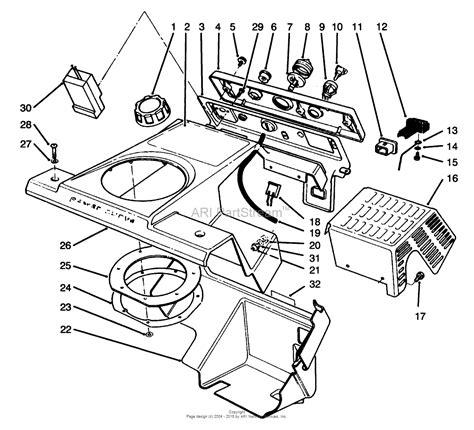 toro ccr 2000 parts diagram toro 38185 ccr 2000 snowthrower 1995 sn 5900001 5999999