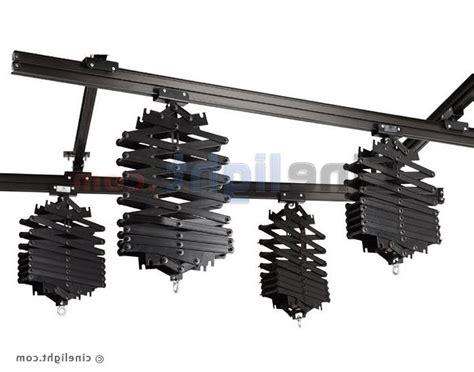 Ceiling Rail Pantograph 3pcs ceiling light rail system photography