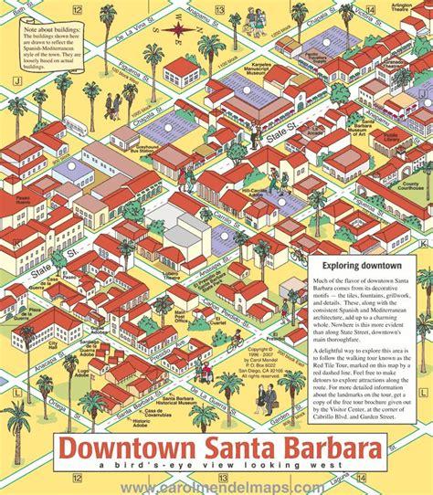 Of California Santa Barbara Mba Program by 25 Best Ideas About Downtown Santa Barbara On