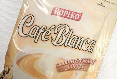 White Coffee Kopiko kopiko caf 233 blanco goes against great taste white coffee consumer
