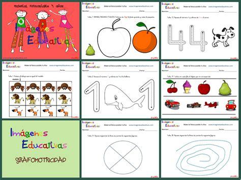 imagenes educativas material fotocopiable 5 años cuadernillo de 40 actividades para 4 a 241 os educaci 243 n
