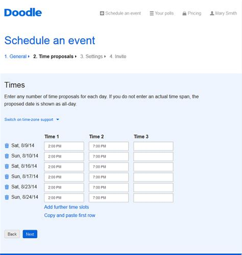 doodle polls notifications create free polls in a matter of minutes with