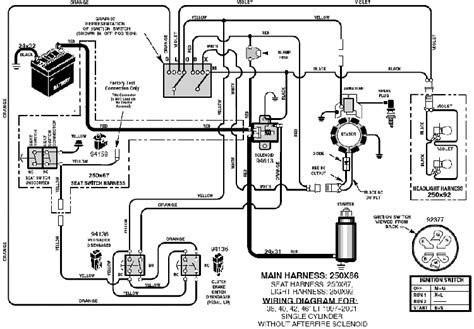 yard machine lawn mower wiring diagram new wiring