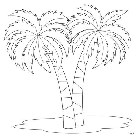Dessin 224 Imprimer Deux Palmiers Dory Fr Coloriages Dessin De Palmier A Colorier L