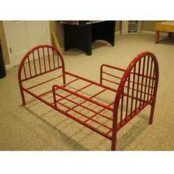 Toddler Bed Metal Frame Metal Toddler Bed Used Kid S Furnitures For Sale