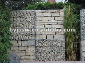stone cage for retaining wall material buy stone cage