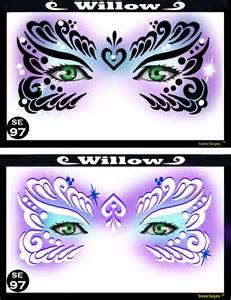 paint templates willow mardi gras painting stencil
