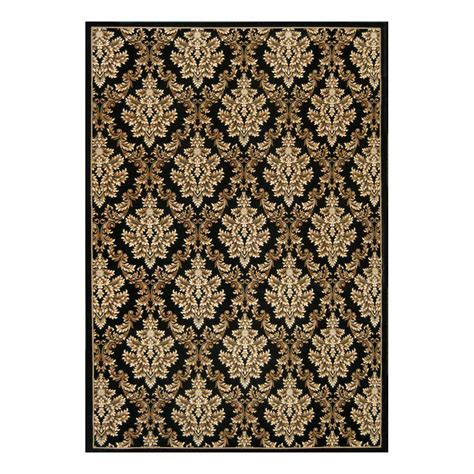 Natco Rugs by Natco Kurdamir Damask Black 7 Ft 10 In X 10 Ft 10 In