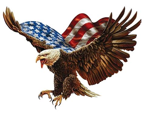 proud amp free american eagle decals with free shipping