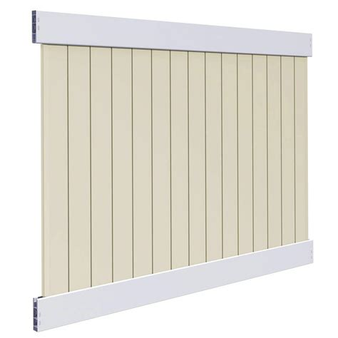 veranda roosevelt 6 ft h x 8 ft w two toned white and
