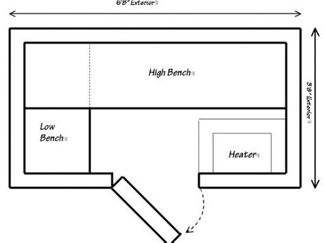 sauna floor plans 3 quot x 6 quot modular sauna