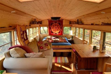 tiny house school bus check out this awesome tiny house school bus conversion