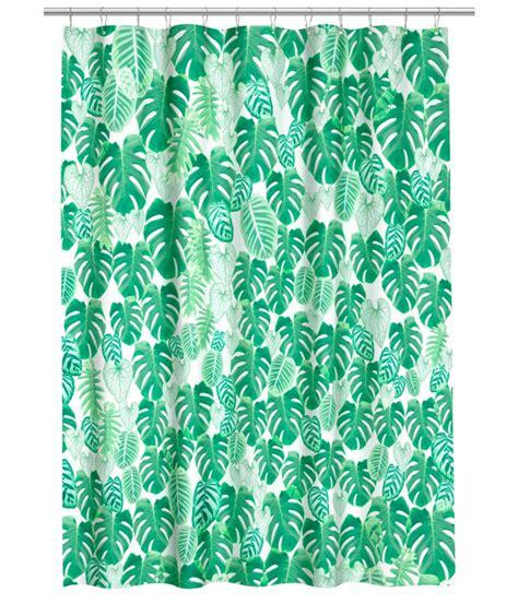 Duschvorhang H M by Badaccessoires H M Home In Den Farben Gr 252 N Und Wei 223