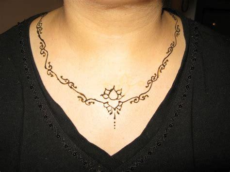 henna design neck mehndi designs for neck www ozyle 12 ozyle