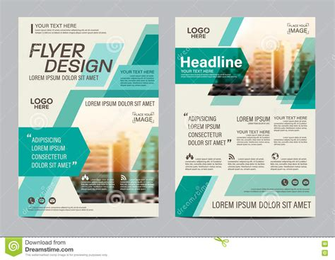 leaflet layout photoshop brochure layout design template annual report flyer