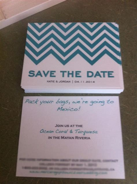 my diy printable chevron save the dates and lined