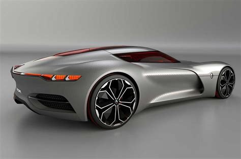 renault trezor renault trezor concept revealed at motor autocar