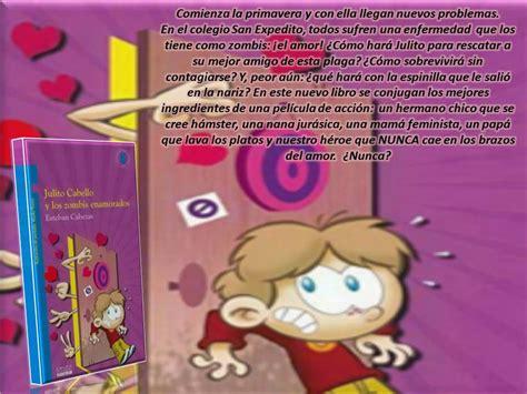 el libro quot julito cabello y los zombis enamorados quot del autor esteban cabezas est 225 disponible en