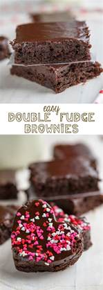 Easy Double Fudge Brownies with the most amazing frosting ever.   Crazy for Crust