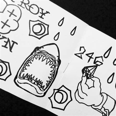 Tattoo Flash Zine | mq tattoo flash zine and mq sharpie 183 whatyouwrite