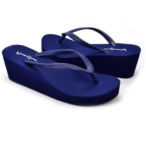 comfortable wedge flip flops soft comfortable wedge women flip flops sweet medium heel