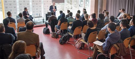 Mba Portal Hec by Bombardier President Alain Bellemare Meets Mba Students
