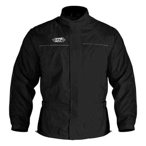 waterproof motorcycle jacket oxford rainseal over jacket black blda motorbikes