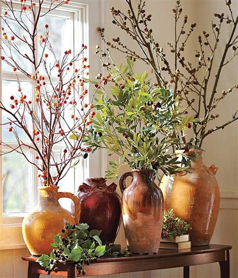 fall decor  branches  awesome ideas digsdigs