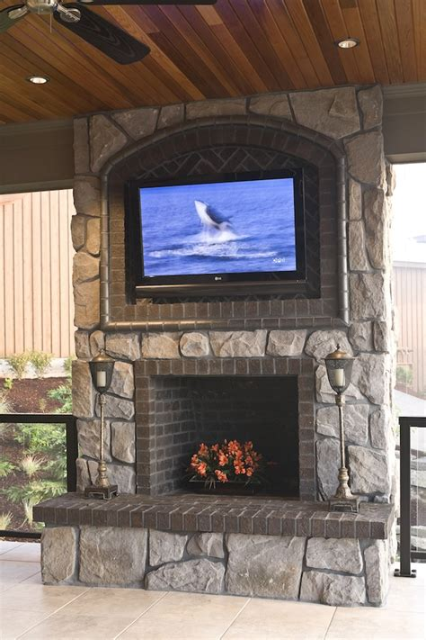 flat screen tv mounted fireplace mounting a tv a fireplace how to mount tv on wall