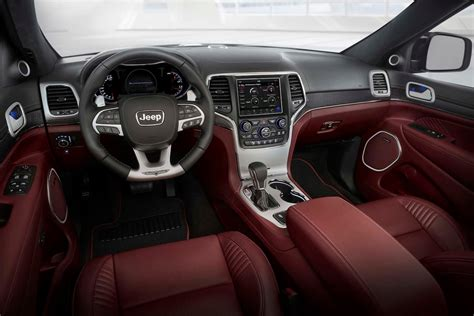 jeep grand interior 2018 jeep grand trackhawk drive fastest