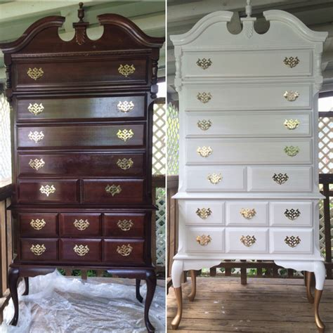 white queen anne bedroom furniture modernized this beautiful queen anne highboy dresser