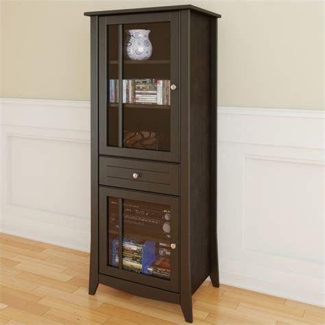 Kitchen Curio Cabinet by 60 Quot Curio Cabinet In Espresso 200317