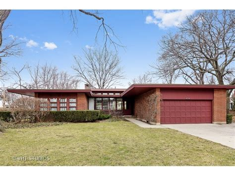mcm home gone classic mcm ranch with new modern kitchen in skokie