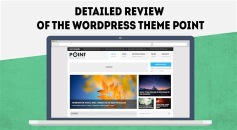 wp theme generator review detailed review of the wordpress theme point