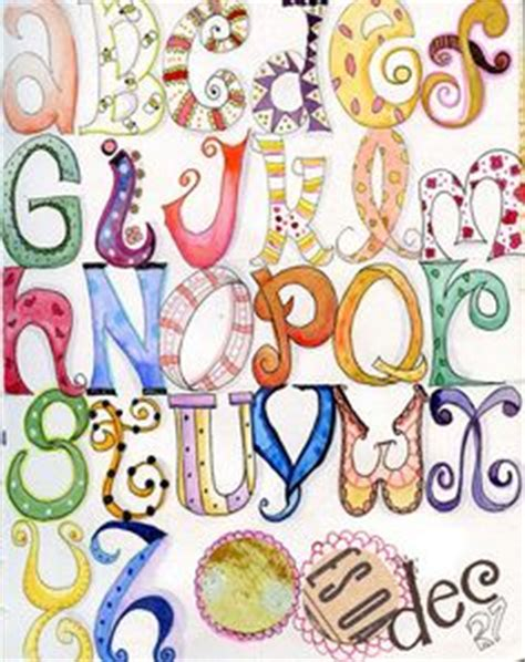 doodle combinations alphabetical order lettering tutorials on lettering